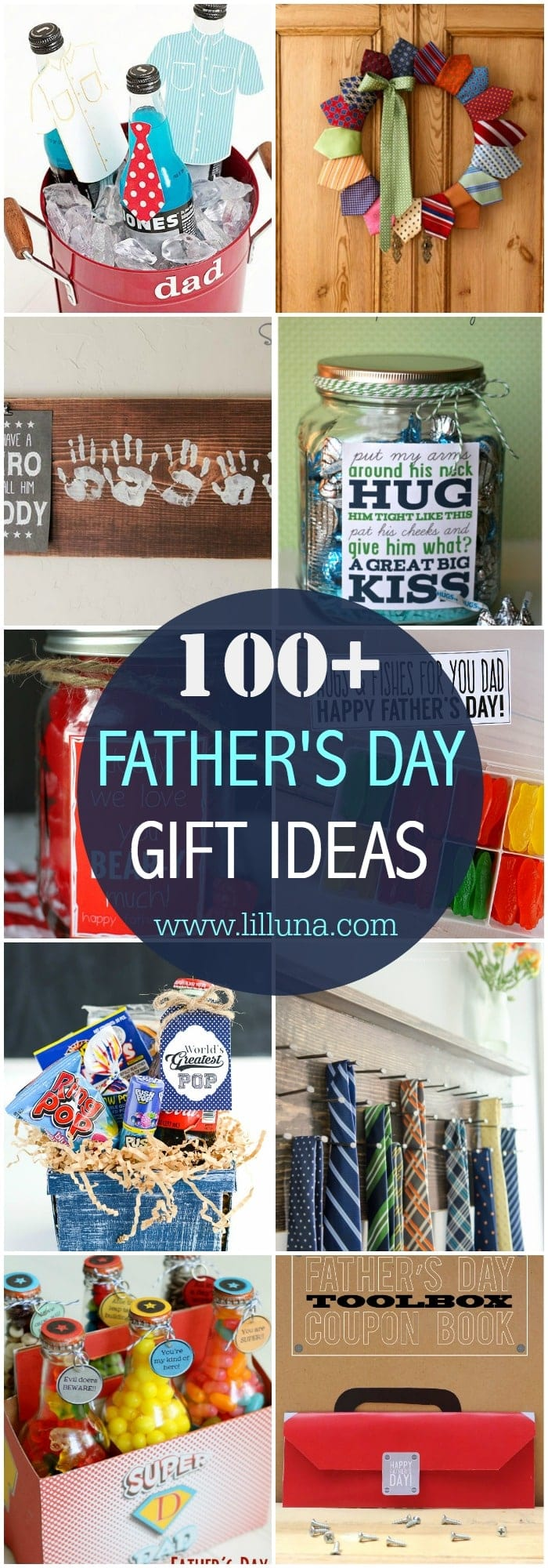 31d1511a 100+ Easy, cute and inexpensive Father's Day Gift Ideas! From food gifts to