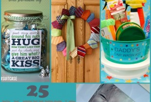 25 Father's Day GIft Ideas - lots of super cute gifts for Dad and Grandpa!! { lilluna.com }