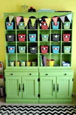 Craft Room Hutch Reveal