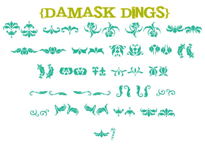 Favorite Free Dingbats Part 1! Lots of cute symbols!!
