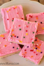 Sugar Cookie Bars - my FAVORITE! #sugarcookies
