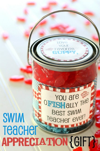 Swim teacher appreciation gift What is a nice thank you gift