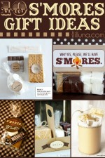 10 S'mores Gift Ideas - so clever and cute! You can't go wrong with one of these gifts!! { lilluna.com }