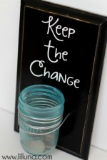 Keep the Change Sign - love this for the laundry room!