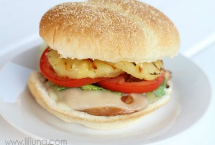 Teriyaki Chicken Burgers - YUM!!
