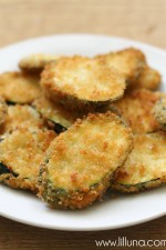 The BEST fried zucchini!