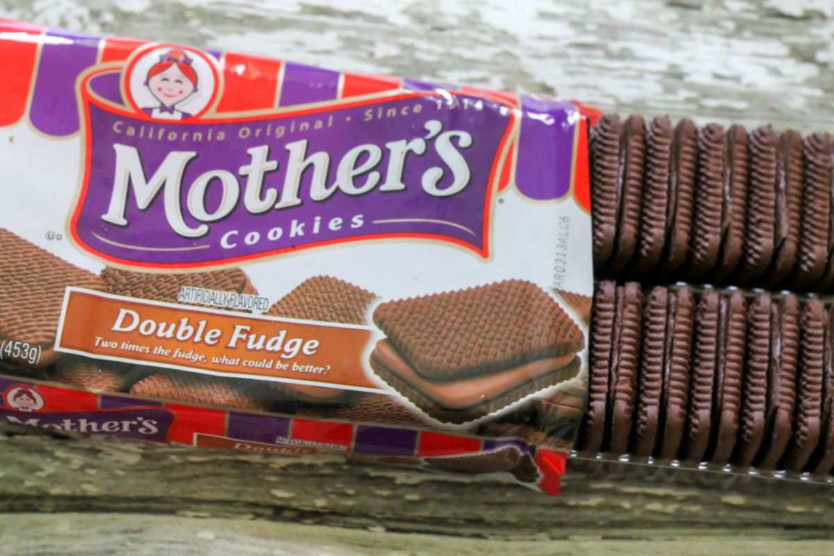 Mother's double fudge cookies