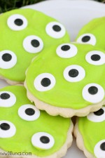 Monster Eye Sugar Cookies