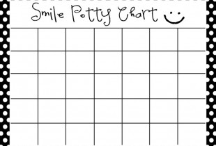 Smile Potty Chart Print - RESIZE