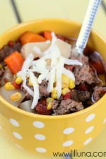 Hamburger Soup. A new favorite! #soup