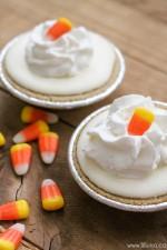 Mini Candy Corn Pies