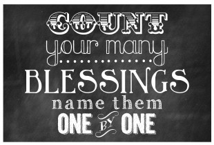 Thanksgiving - Count Your May Blessings