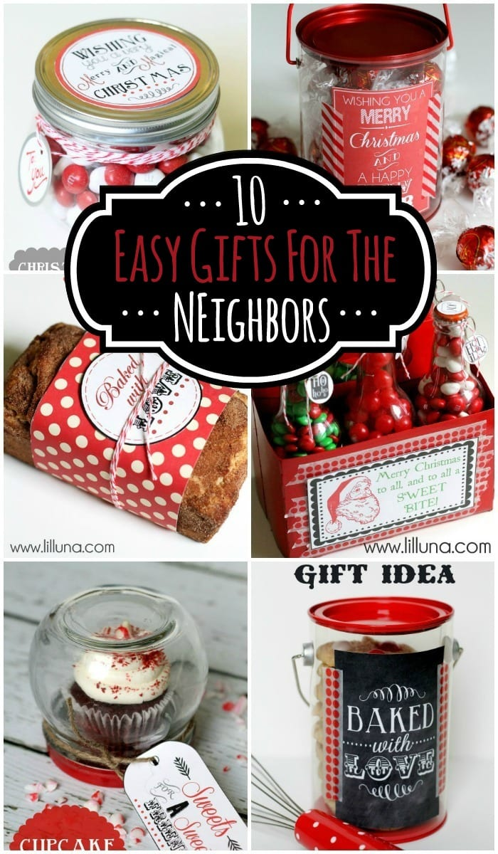 Easy neighbor christmas gift ideas