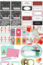 25 Free Christmas Tags on { lilluna