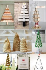 30 Handmade Christmas Trees on { lilluna.com }