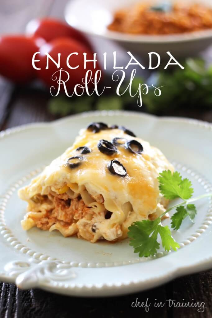 Enchilada Roll- Ups