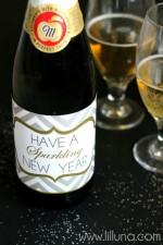 Sparkling Cider New Year Prints