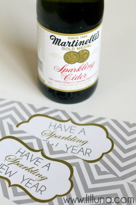 Sparkling Cider Prints!! The perfect print for Martinelli's and a great gift idea!