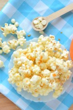 Easy Orange Dreamsicle Popcorn