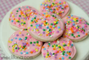 The Best Sugar Cookies - soft and delish!