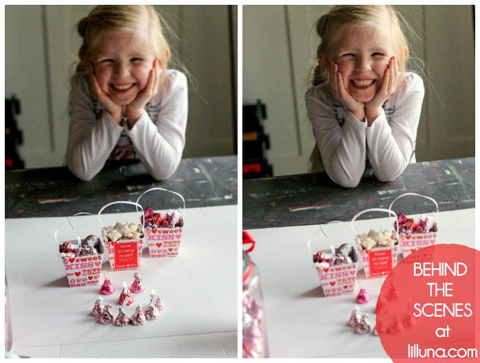 Valentines HUGS and KISSES Jar - Behind the Scenes-2