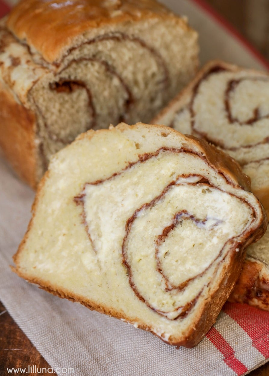 The BEST Cinnamon Bread recipe ever! So soft! This will be gone in minutes!