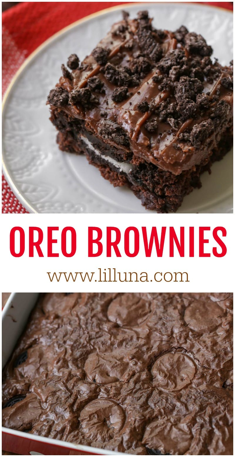 Delicious OREO Brownies