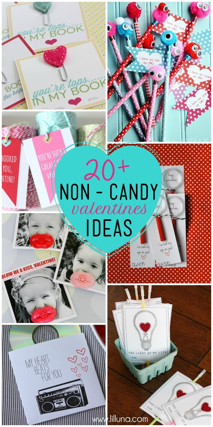 20+ Non-Candy Valentine's Ideas on { lilluna.com } #valentines