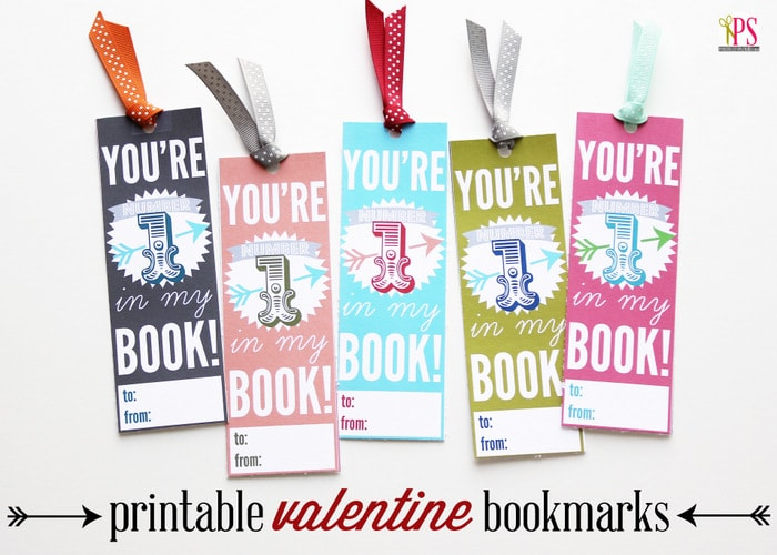 Bookmark Valentines