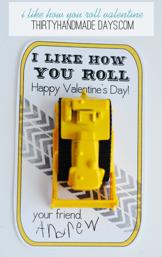 I Like How You Roll Valentine