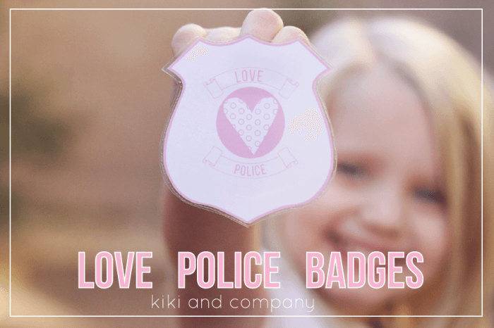 Love Police Badges