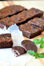 Easy Mint Brownies