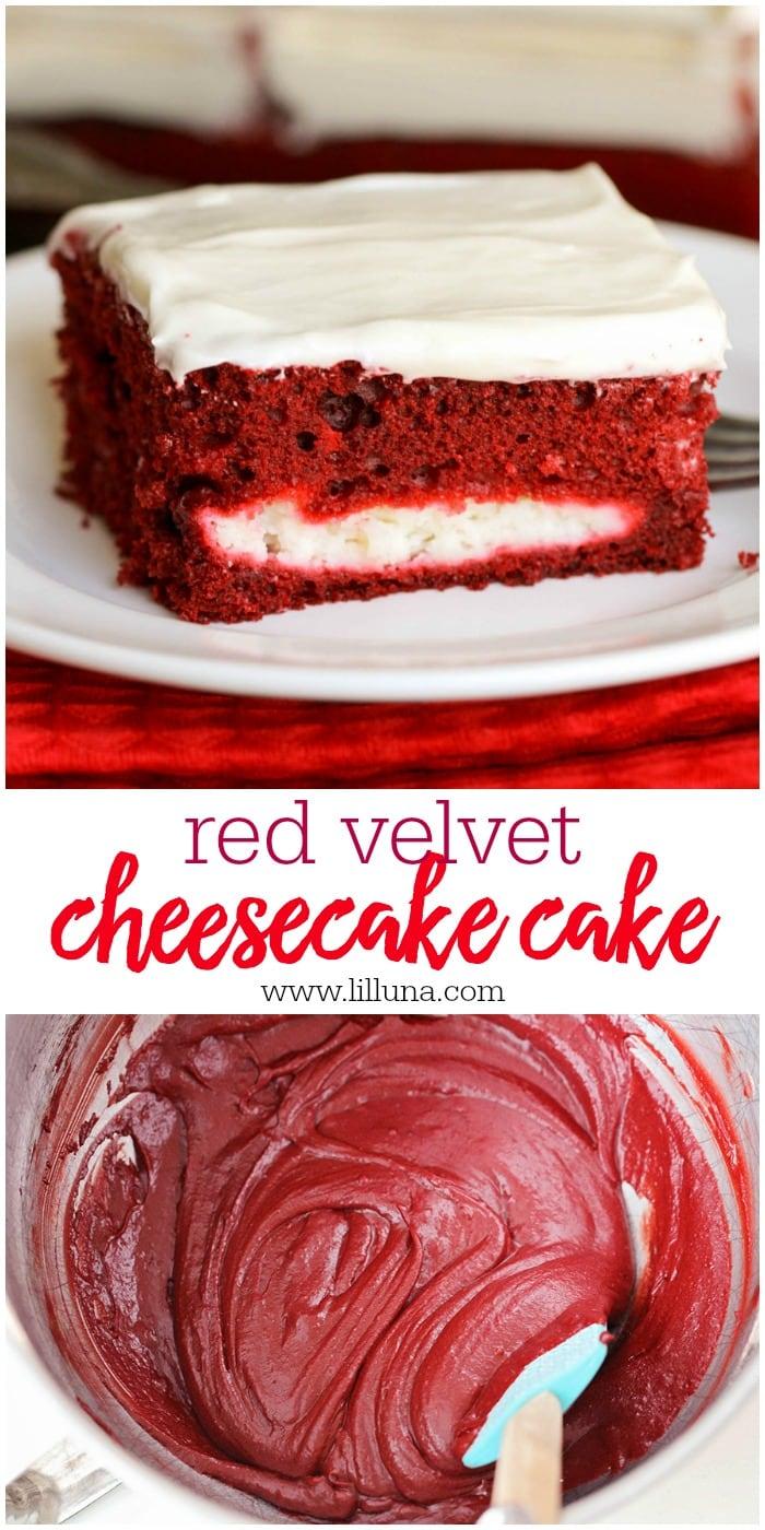 Best Red Velvet Cheesecake Cake