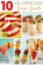 10 Finger Foods For Kids