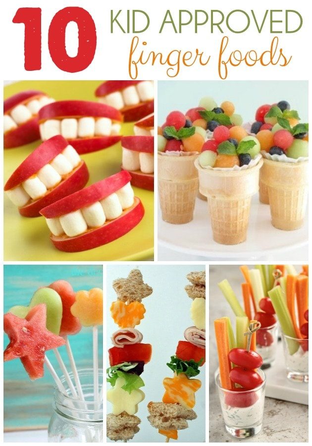 10 Fun Finger Foods For Kids