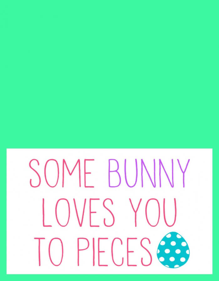 Easter - Some Bunny Loves You to Pieces - 2