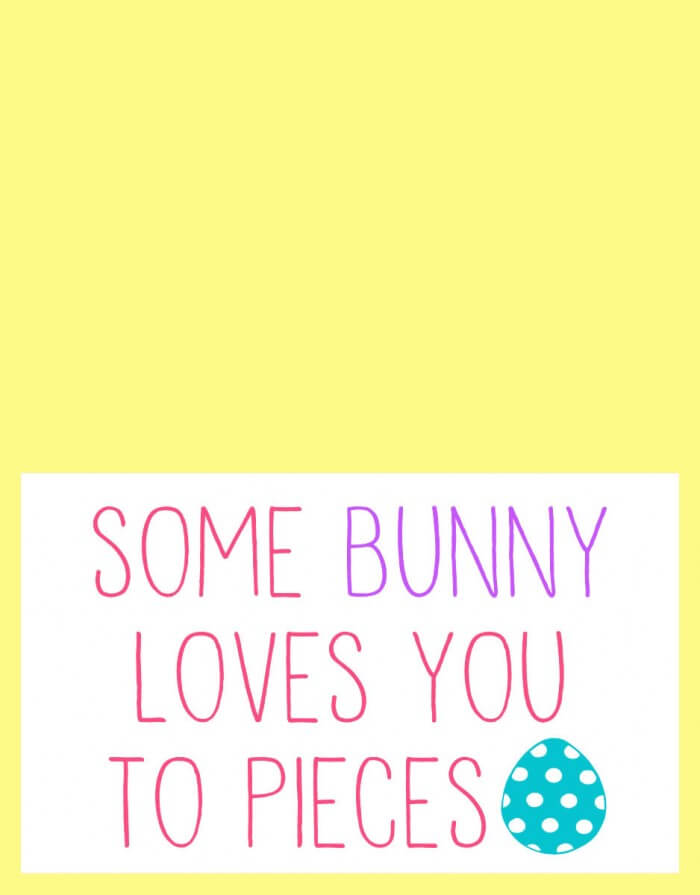 Easter - Some Bunny Loves You to Pieces - 3