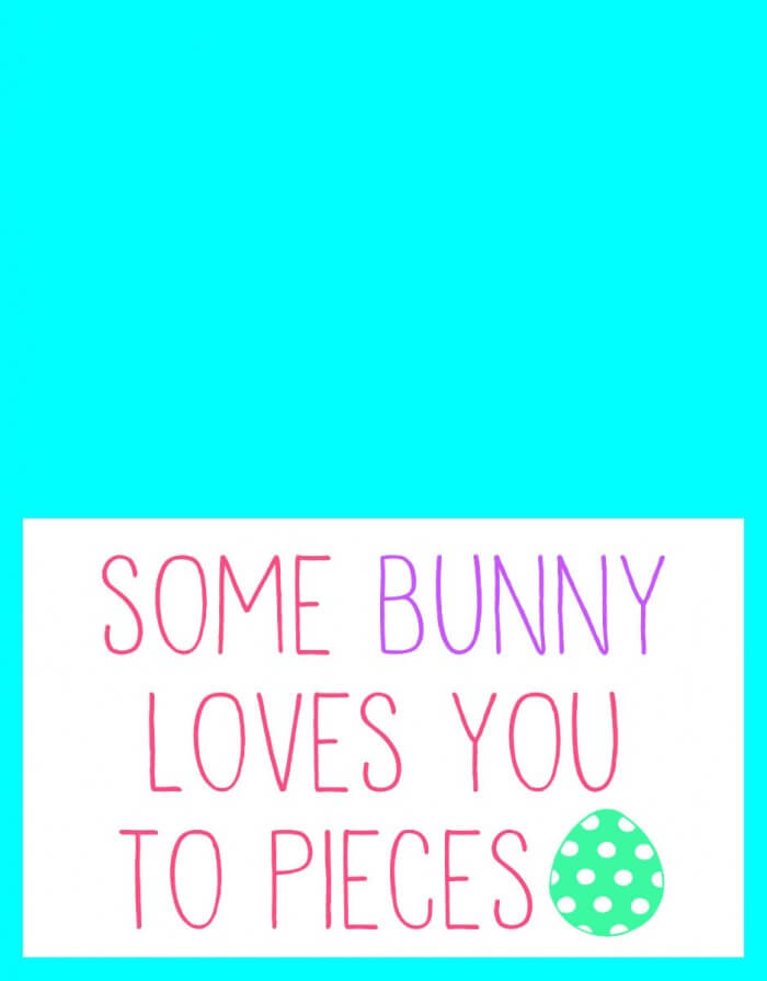 Easter - Some Bunny Loves You to Pieces - 4