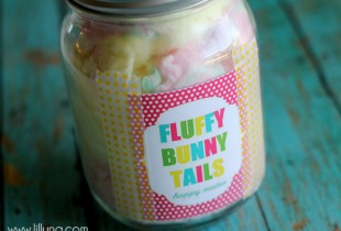 Fluffy Bunny Tails Gift and Prints