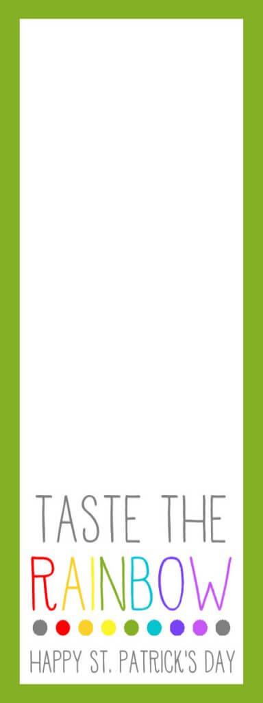 St, Patrick's Day - Tic Tac Print
