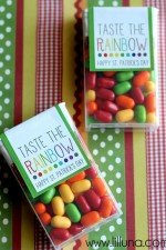 Taste the Rainbow Tic Tac Prints on { lilluna.com } #stpatricksday