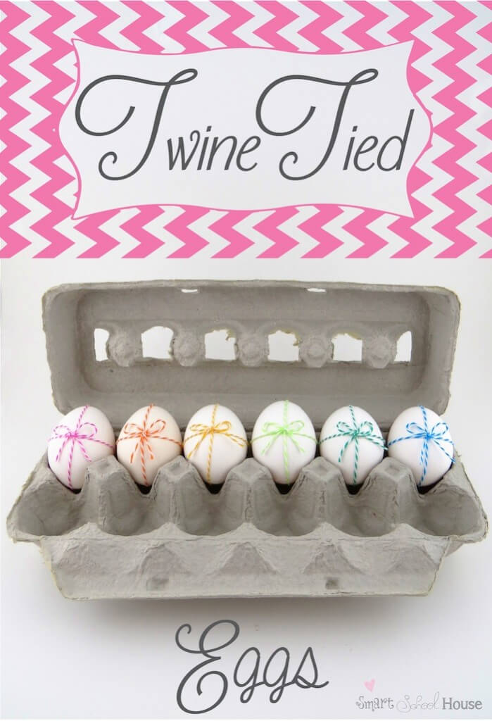 Twine Tied Eggs