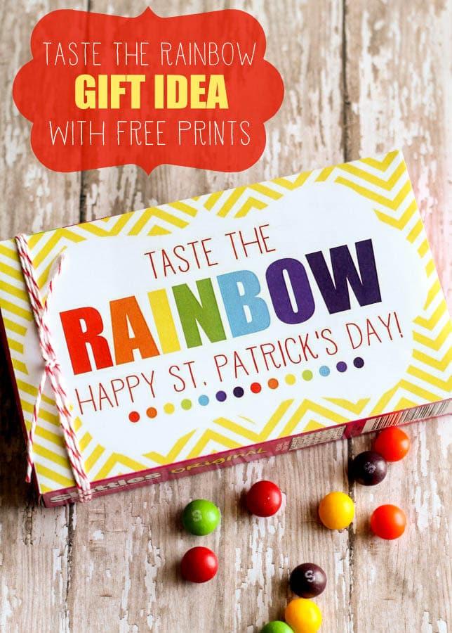 Skittles Taste The Rainbow Prints