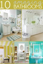 10 Amazing Bathrooms on { lilluna.com } #bathroom