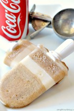Coke Float Popsicles