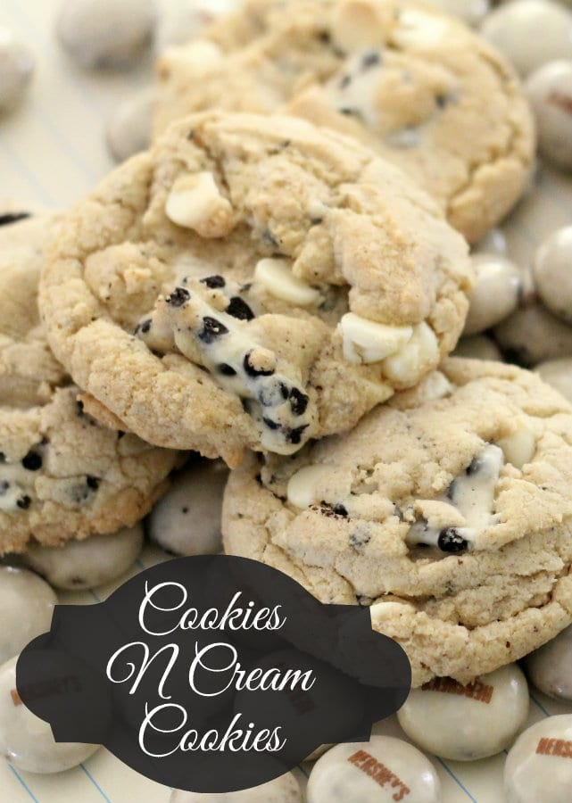 Hersheys Cookies And Cream Cookie Mix Cookies n cream cookies recipe