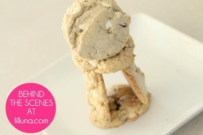 Cream cookies - Behind the Scenes