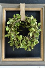 Framed Spring Wreath