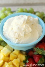 Fruit Dip recipe on { lilluna.com }