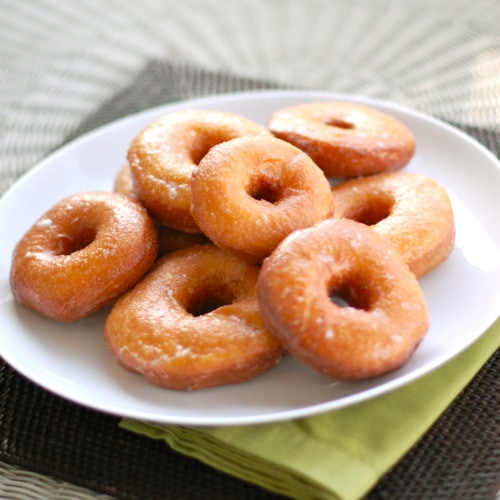 Krispy Kreme Doughnut Recipe (Copy Cat) — Light and fluffy donuts topped with a rich glaze on top that will melt in your mouth. Tastes as good as the store-bought Krispy Kremes! Raise your hand if you have ever waited in line for a Krispy kreme doughnut. Now, raise two hands if you have made a u.